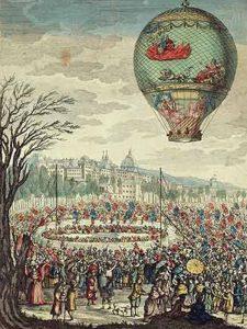 Montgolfiere-Ballon Geschichte