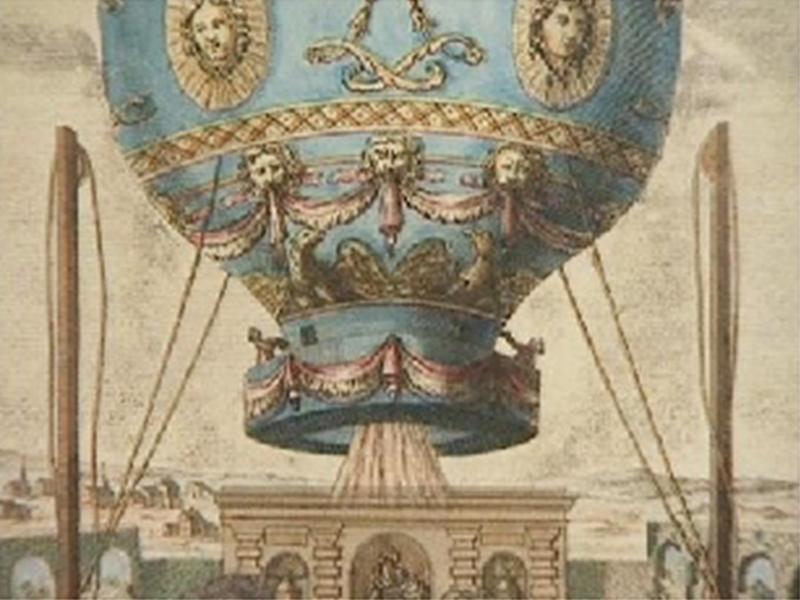 Montgolfiere-Ballon. Geschichte